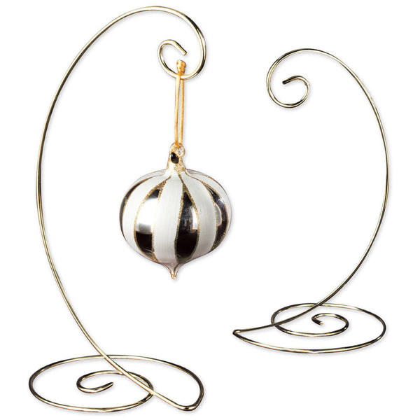 Brass Spiral Ornament Tree