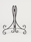 Decorative Black Flat Wire Easel