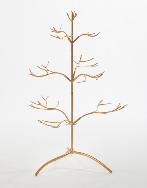 "25"" Gold Ornament Tree"