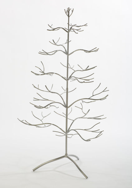 "36"" Silver Ornament Tree"