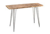 Empress Natural Console Table