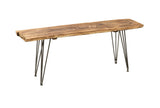 Empress Natural Wood Bench