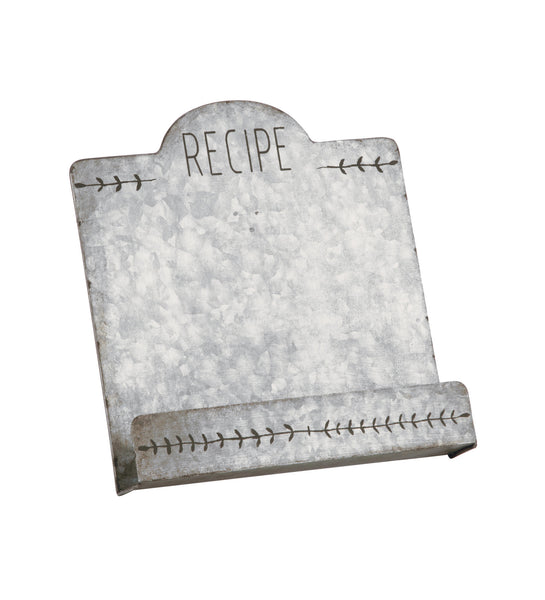 Metal Recipe Book Stand
