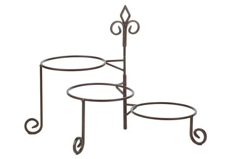 Keller 3 Tier Swivel Plate Stand