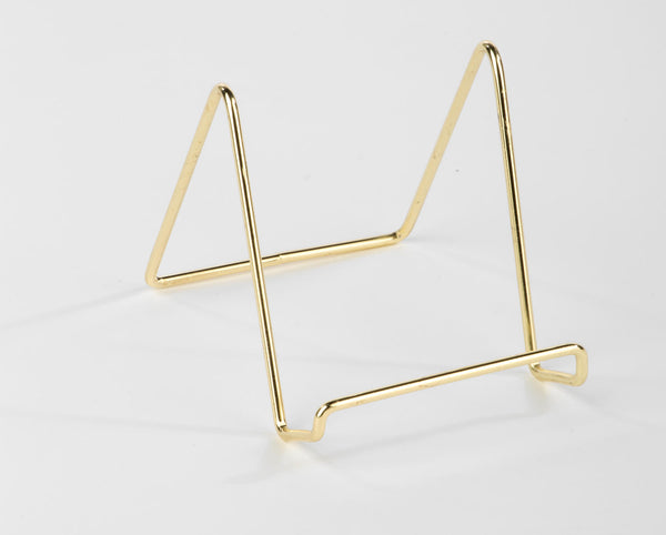 Smooth Brass Wire Stand
