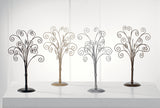 Burnished Silver Table Top Tree-Set of 2