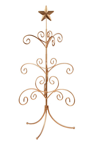 Gold Regent Mini Ornament Tree