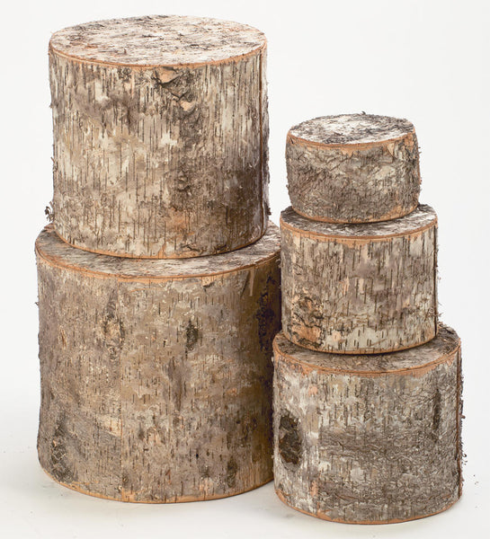 Natural Birch Risers