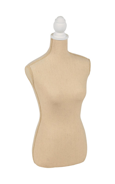 Cream Linen Body Form