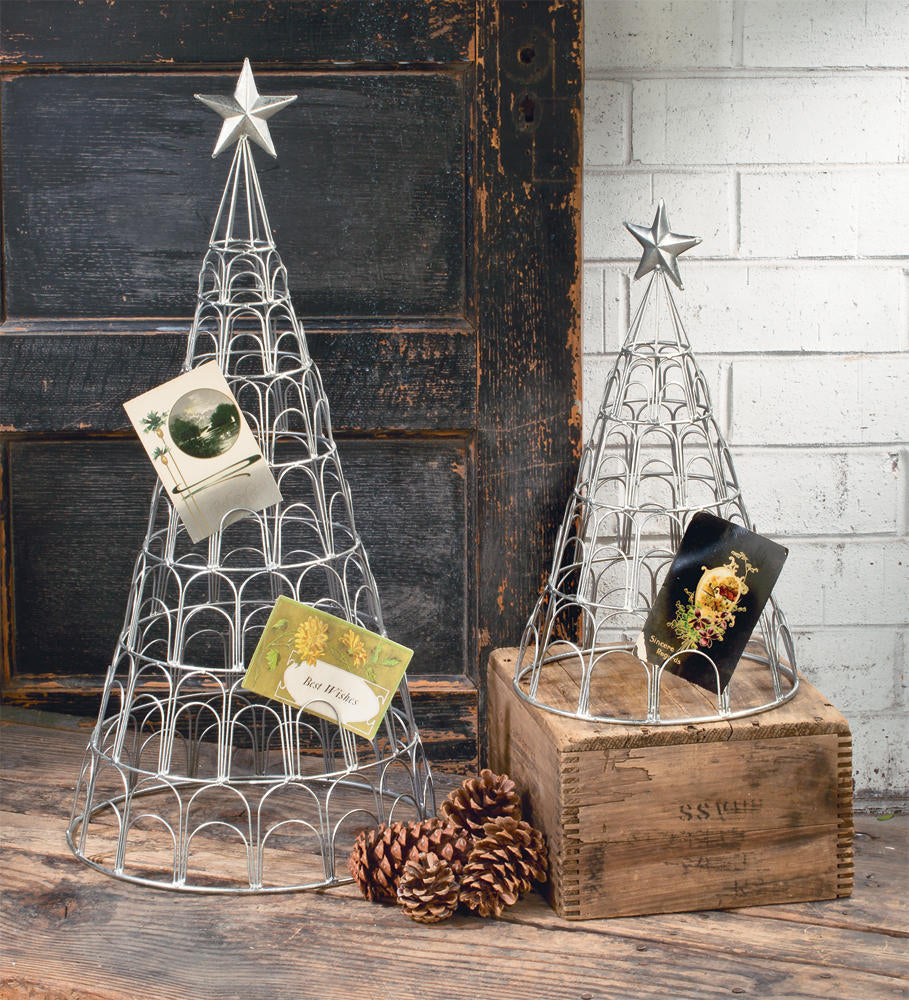 holiday card tree set display collections inc