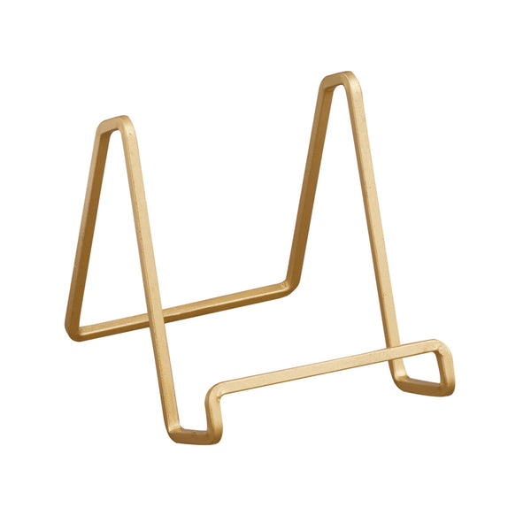 Gold Square Wire Stand