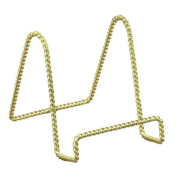 Brass Twisted Wire Stand