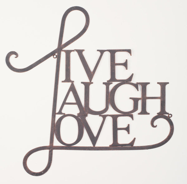 Live, Laugh, Love Wall Art
