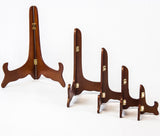 Wooden Walnet Folding Plate Stands