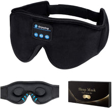 Sleep Headphones,3D Sleep Mask Bluetooth 5.0 Wireless Music Eye Mask, LC-dolida Sleeping Headphones for Side Sleepers, with Ultra-Thin HD Stereo Speakers Perfect for Sleeping, Air Travel, Meditation