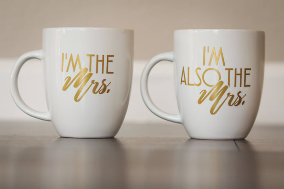 MRS. Coffee Cup Set