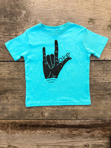 Sign Language Love Tee