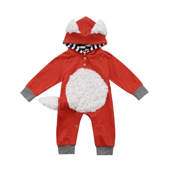 Toddler Fox Romper