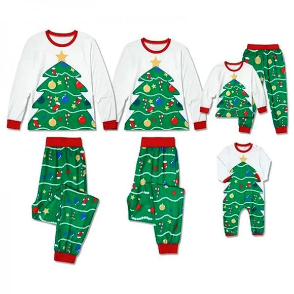 FLASHY CHRRRMAS PJ SET