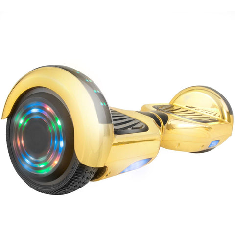 XPRIT C1 Plus Gold Safe Hoverboard UL2272 certified with Bluetooth Speaker Free Shipping. - HoverBoard4sale