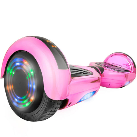 XPRIT C1 Plus Pink Hoverboard UL2272 certified with Bluetooth Speaker Free Shipping. - HoverBoard4sale