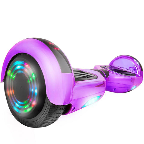 C1 Plus Purple Safe Hoverboard UL2272 certified with Bluetooth Speaker Free Shipping. - HoverBoard4sale