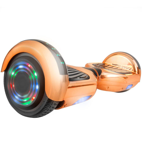 XPRIT C1 Plus RoseGold Safe Hoverboard UL2272 certified with Bluetooth Speaker Free Shipping. - HoverBoard4sale
