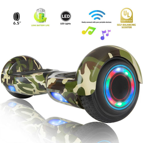 XPRIT SBW666 Camouflage Hoverboard with Bluetooth