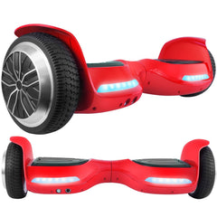 2018 Red T67SE Safe Hoverboard UL2272 certified with Bluetooth Speaker Free Shipping. - HoverBoard4sale