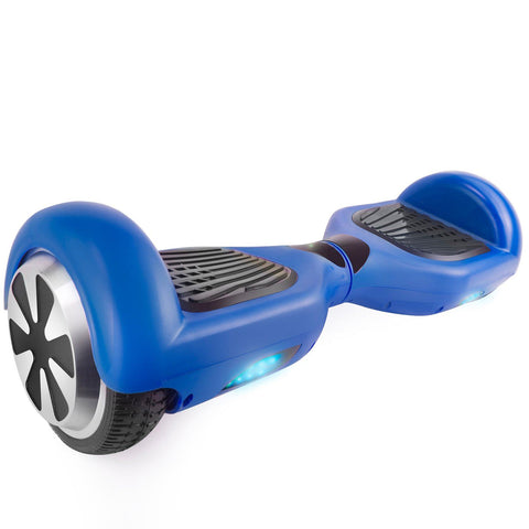 "T6SE Blue Hoverboard with 6.5"" Wheels Self Balancing UL2272 Certified - HoverBoard4sale"