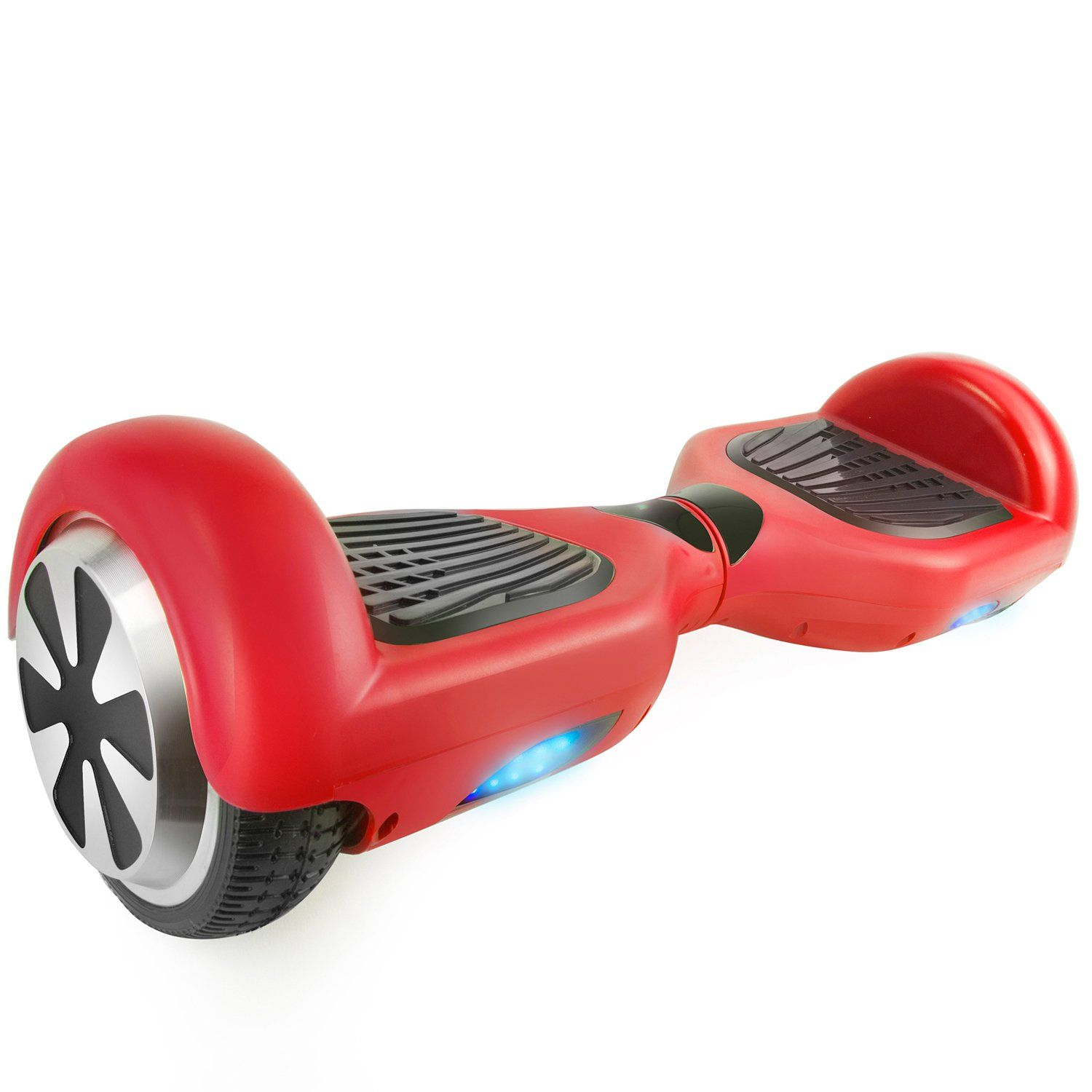 "T6SE Red Hoverboard with 6.5"" Wheels Self Balancing UL2272 Certified - HoverBoard4sale"