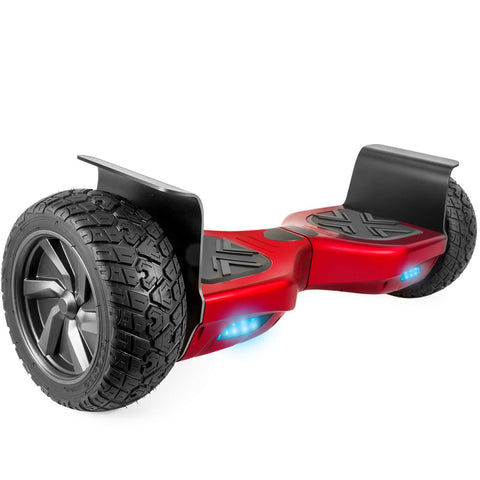 "XPRIT 8.5"" Wheels Red Off Road Hoverboard with UL2272 Certied - HoverBoard4sale"