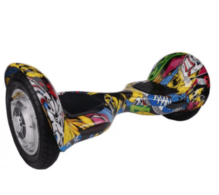 Two Wheel Self Balancing Scooter with A8 4400mAh Battery CARTOON PATTERN - HoverBoard4sale