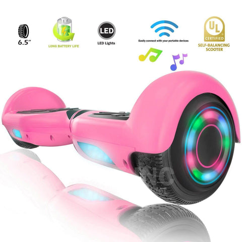 XPRIT SBW666 Pink Hoverboard with Bluetooth - HoverBoard4sale