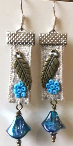 'Truly turquoise' earrings