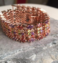 Multicolour band bracelet