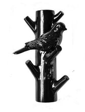 Black bird key holder