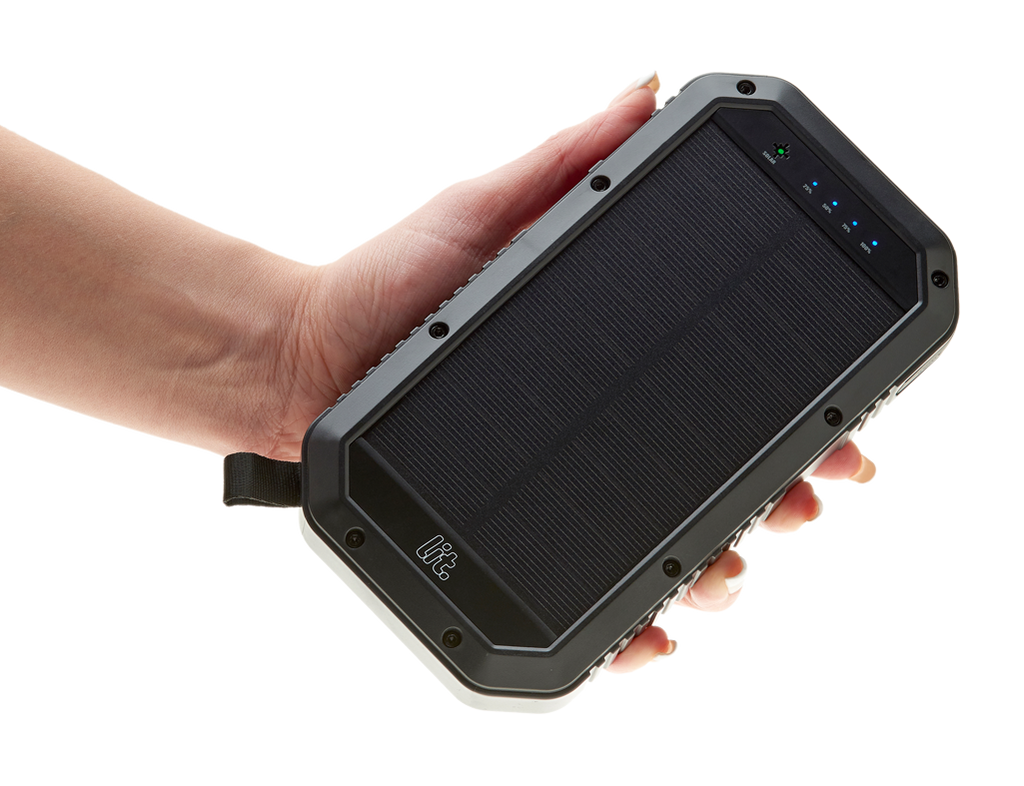 Wireless Lit Solar PowerBank