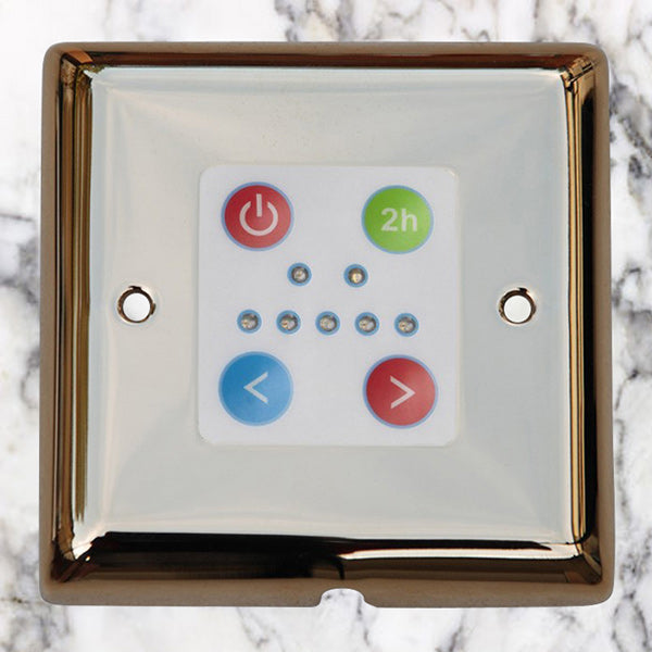 The Queensgate Thermostatic Control Panel – Bringing Heated Towel Rails into the 21st Century.