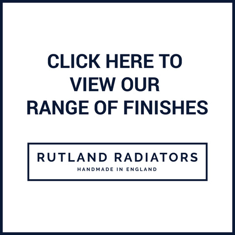 Rutland Radiators Triton Heated Towel Rail Finishes