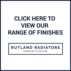 Rutland Radiators Shoreditch Brass Accessories Finishes