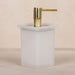 Rutland London Shoreditch Freestanding Glass Soap Dispenser