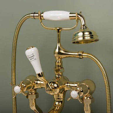 Rutland London Tibberton Crosshead Bath & Shower Mixer