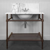 Rutland Radiators Trinity Single Vanity Stand