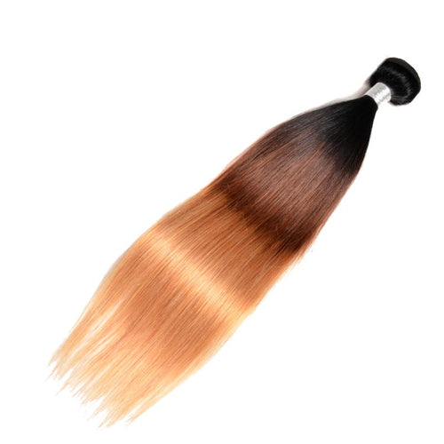 Tissage Bresilien 3 Tons Lisse en Meche de Cheveux Humain 100% Naturel - Brazil-Hair-Shop