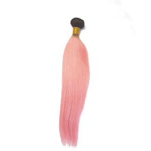 Brazilian weaving smooth black rose in 100% natural human hair wick - brazil-hair-shop