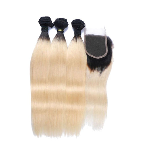 Lots brazilian mache black smooth blonde for weaving 100% natural human hair - brazil-hair-shop