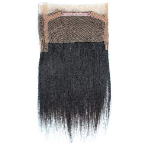 Lace 360 ​​Straight in Natural Brazilian Hair - Brazil-Hair-Shop