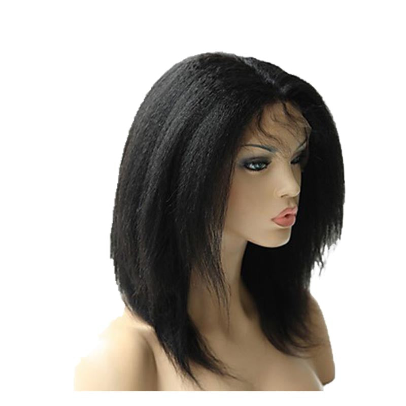 Perruque Afro Yaki en Cheveux Brésilien Naturel - Brazil-Hair-Shop