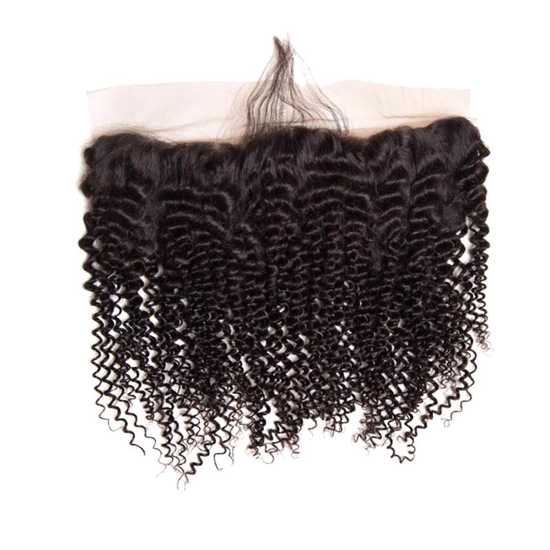 Lace Frontal Frisé en Cheveux Brésilien Naturel - Brazil-Hair-Shop